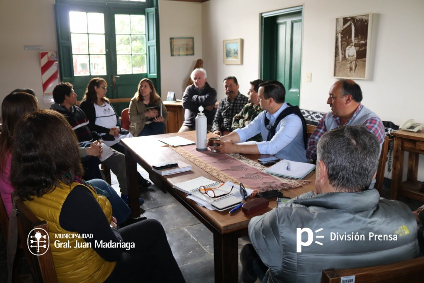 Reunión organizativa por la Fiesta del Talar