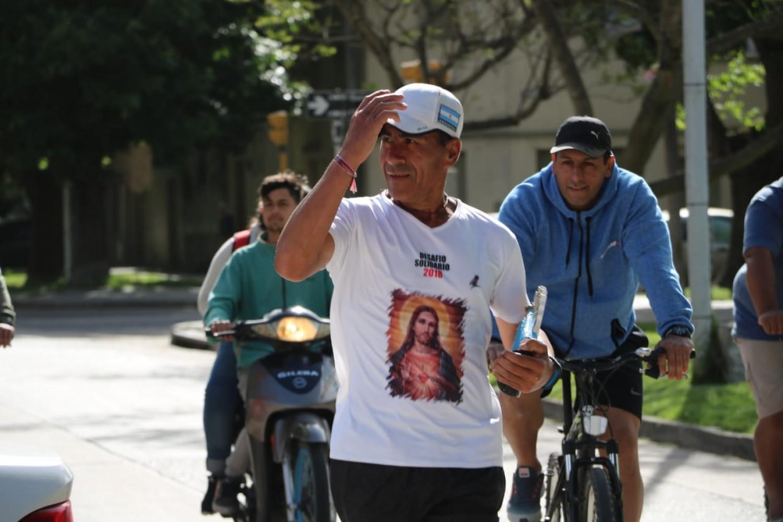 Rubén Castro cumplió con su 6to. Desafío Solidario