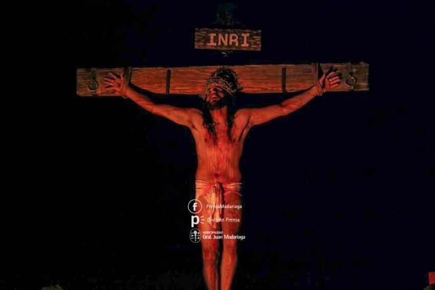 semana santa en madariaga pasion segun san juan jesus cristo