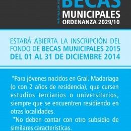 Becas Municipales