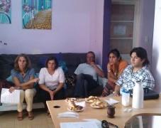 Reunión en la Comisaria de la Mujer