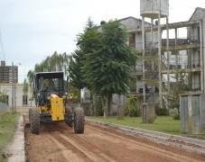 Trabajos de asfaltado