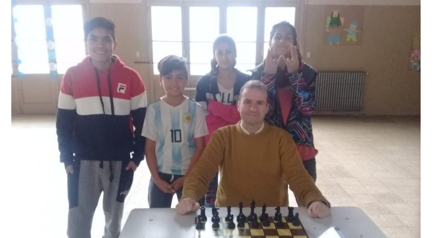 Se disputó la etapa local de ajedrez