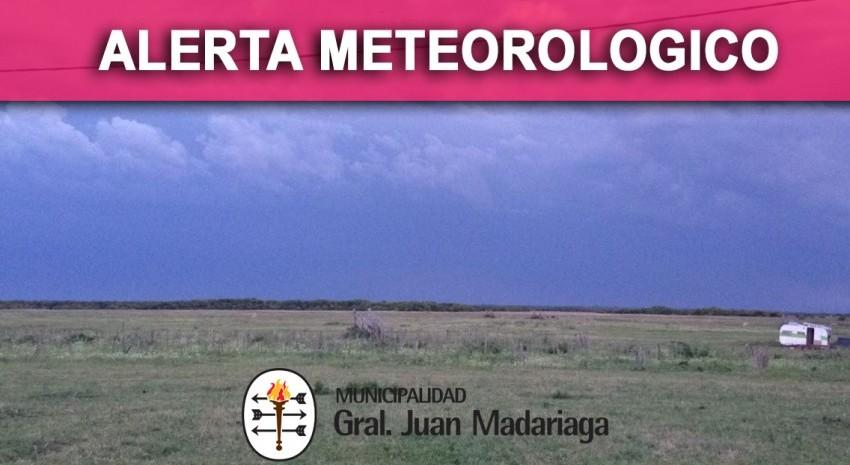 Alerta meteorologico campo