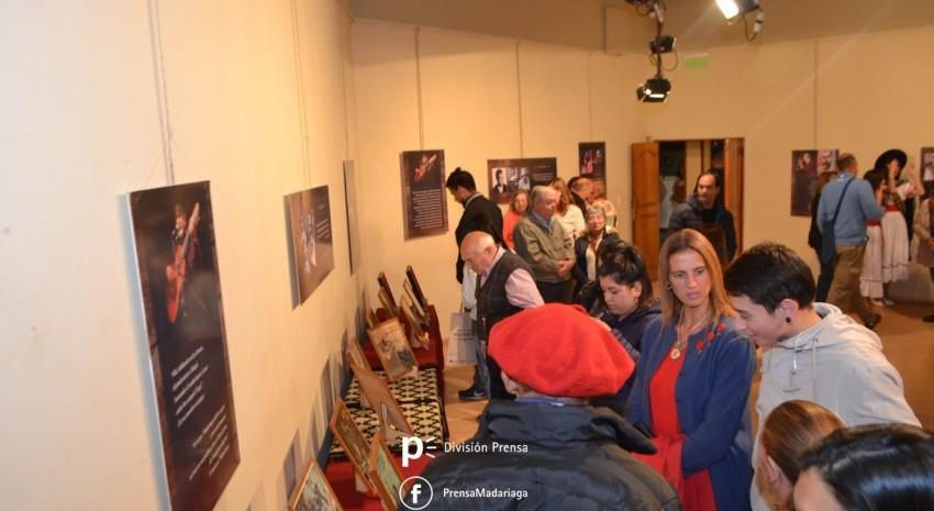 Quedó inaugurada la muestra itinerante de Argentino Luna