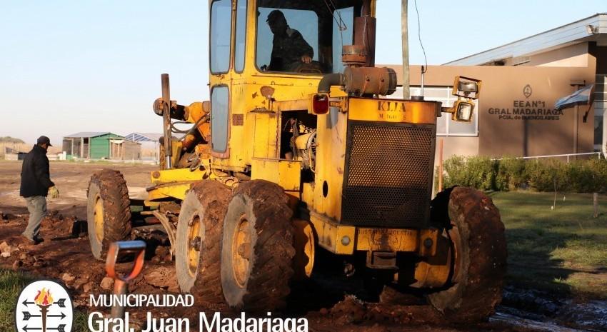 arreglos escuela agraria