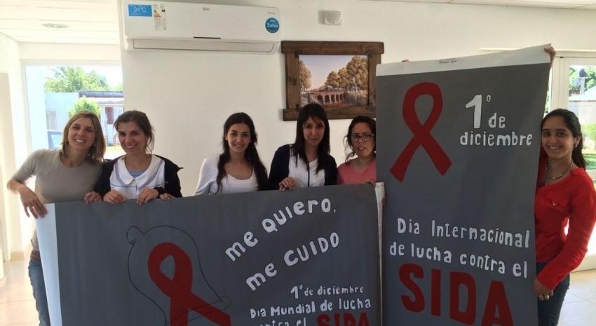 asistentes sociales - campaña sida