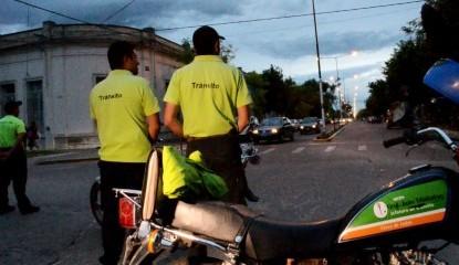 Control de tránsito a motos
