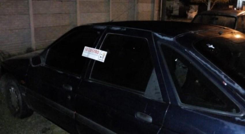 auto secuestrado