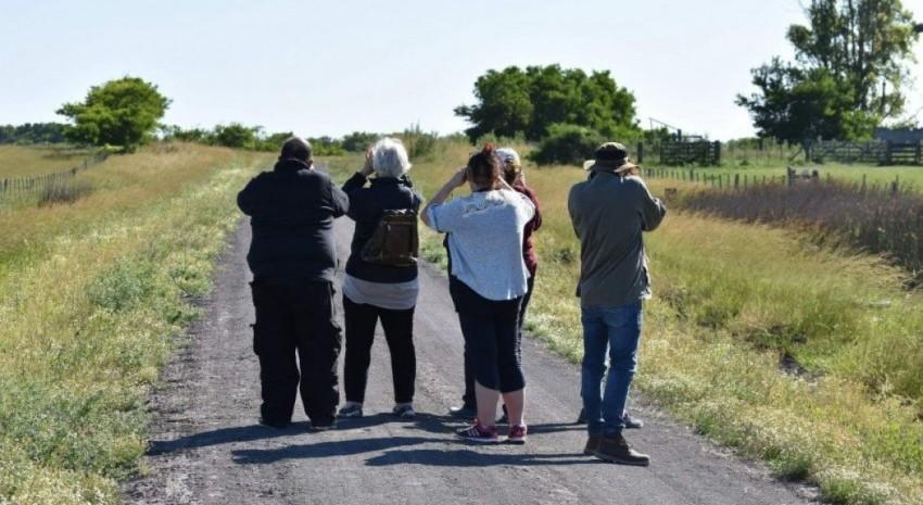 Hoy jornada de avistaje de aves e interpretación de la naturaleza en Los Horcones