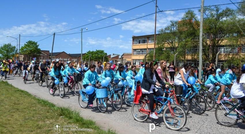 bicicleteada de la familia