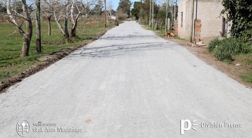 calle polvo de piedra