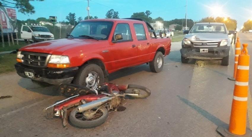 camioneta motos