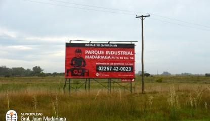 El Parque Industrial ya se promociona en ruta 56