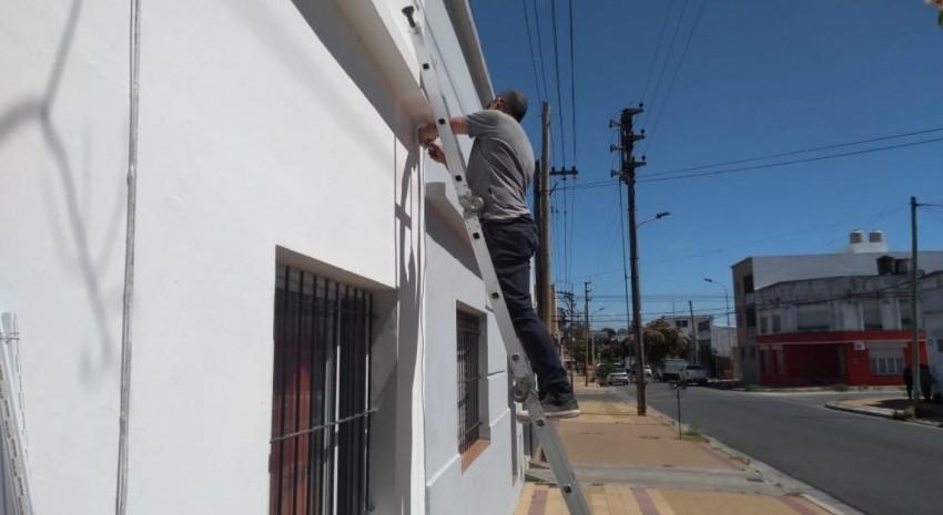 Comenzaron las tareas de mantenimiento en la casa para estudiantes en Tandil