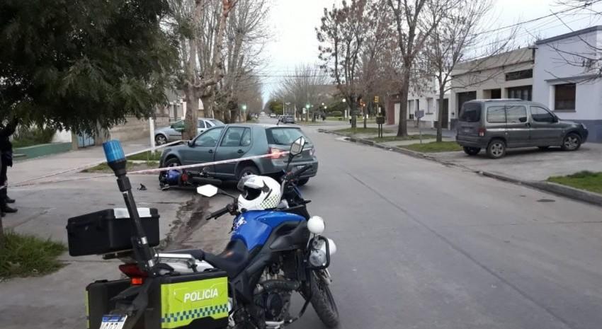 choque calle belgrano