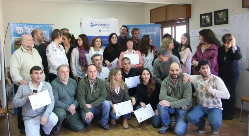 curso de emprendedores egresados gustavo muznik