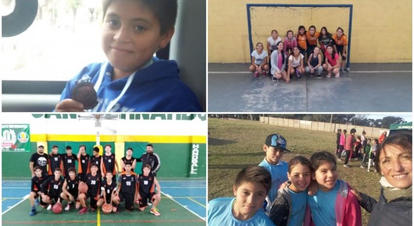 Alumnos de la Escuela Municipal Deportiva participaron de distintos encuentros