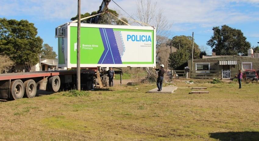 destacamento movil policia modulo de seguridad madariaga