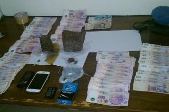 Detención por incautación de droga