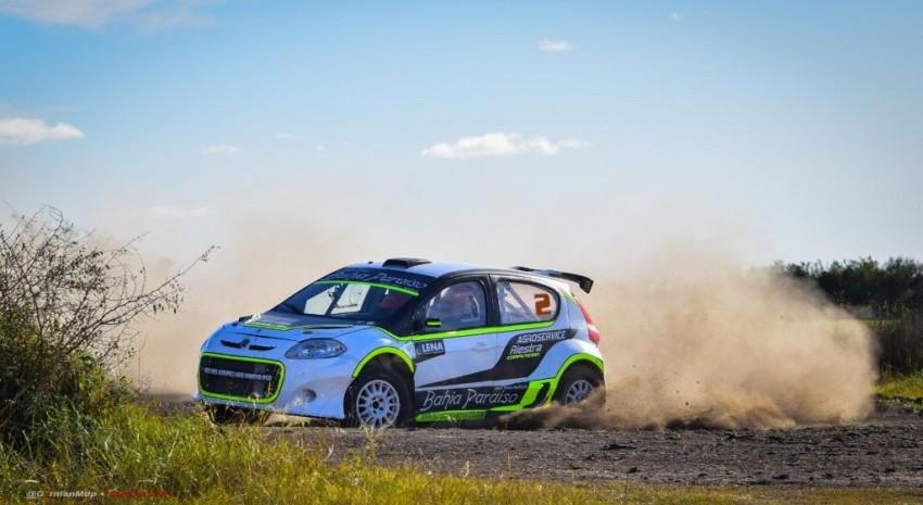 Rally Pagos del Tuyú: Devoto marca el ritmo