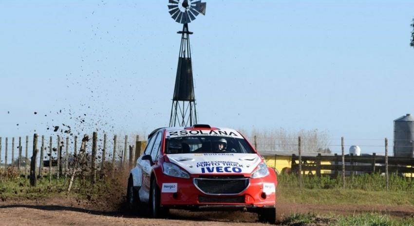 Rally Pagos del Tuyú: Diego Miceli se impuso en la primera etapa y este domingo se define la competencia
