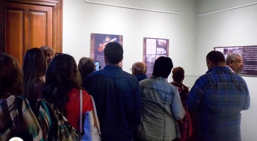 Quedó inaugurada la muestra de Argentino Luna en el museo histórico