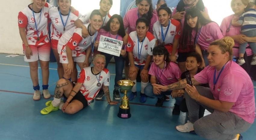 El Fortín se consagró campeón de un nuevo torneo de futsal organizado por BAFI en Madariaga
