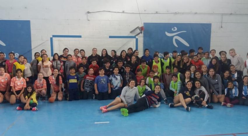Madariaga fue sede de un encuentro regional de Handball