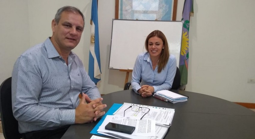Esteban Santoro y Florencia Castro