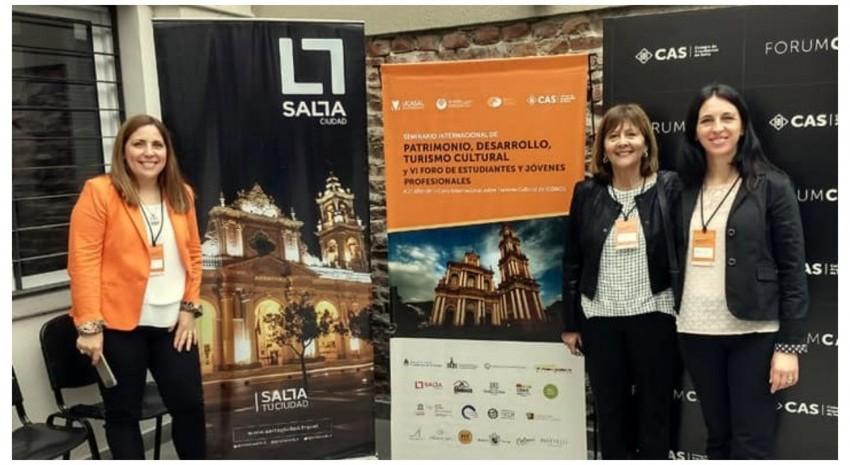 Madariaga expuso en Salta en el Seminario Internacional de Patrimonio,