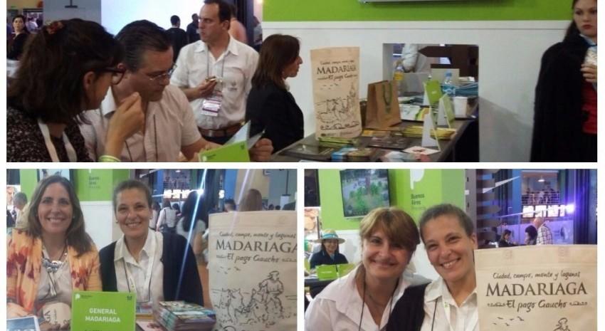 Comenzó la Feria Internacional de Turismo con presencia de Madariaga
