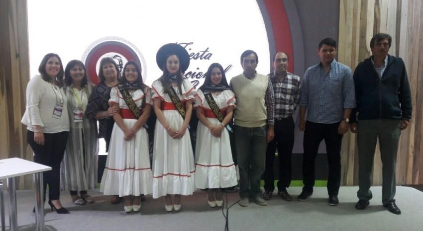 Se realizó la presentación de la Fiesta Nacional del Gaucho ante una importante cantidad de público en la FIT