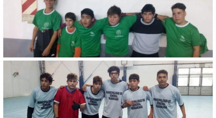 Madariaga clasificó a la final provincial de los Torneos Bonaerenses con fútbol de salón PCD