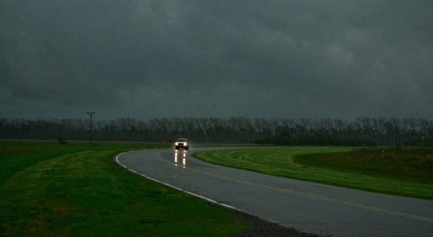 fotografía ruta con tormenta madariaga