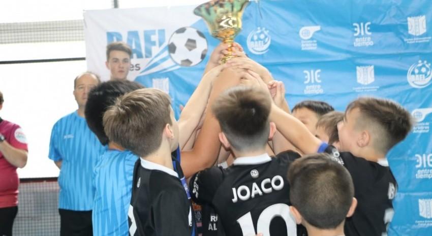 Futsal Infantil: Santos Lugares se consagró campeón en el torneo BAFI Madariaga