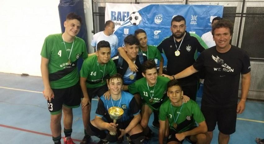 Fomento Futsal se quedó con la Copa de Oro Madariaga 2017