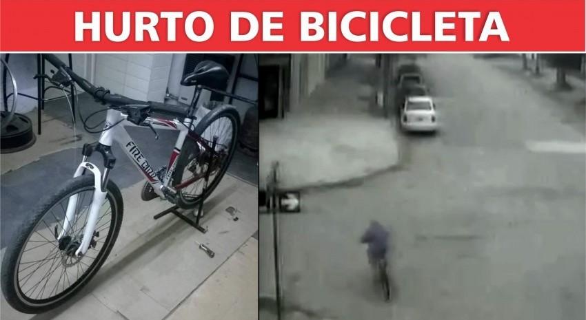 Hurto de bicicleta en Madariaga