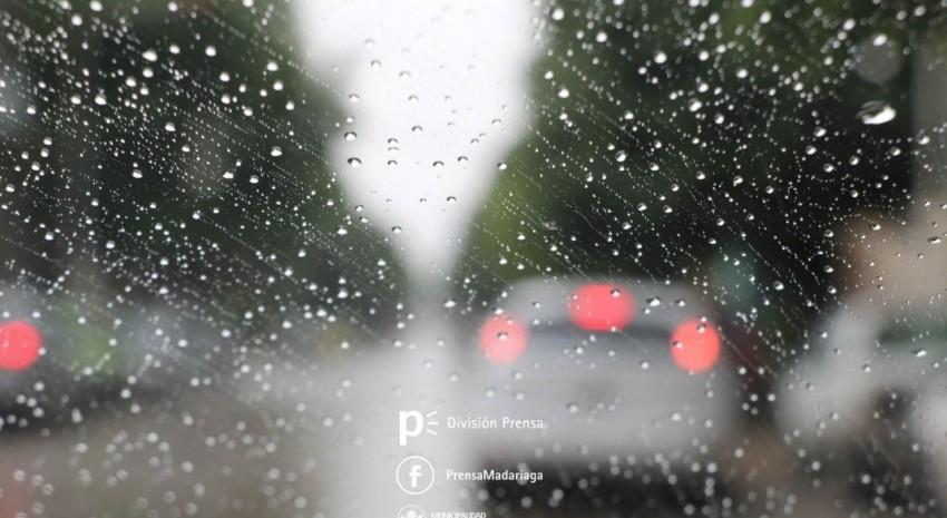 Lluvia en madariaga