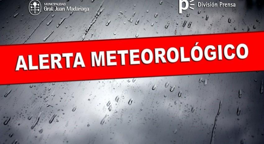 lluvias alerta meteorologico