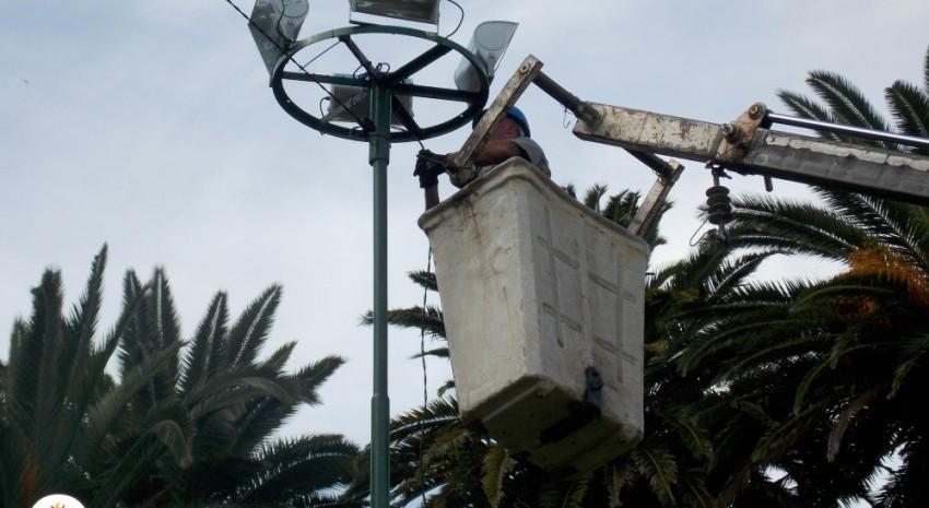 Inaugurarán esta noche el nuevo sistema lumínico del Parque Anchorena