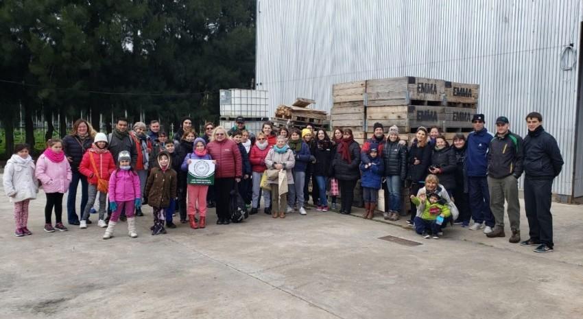 Más de 40 personas participaron de la visita de