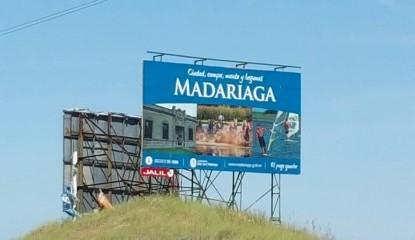 Madariaga ya tiene presencia en ruta