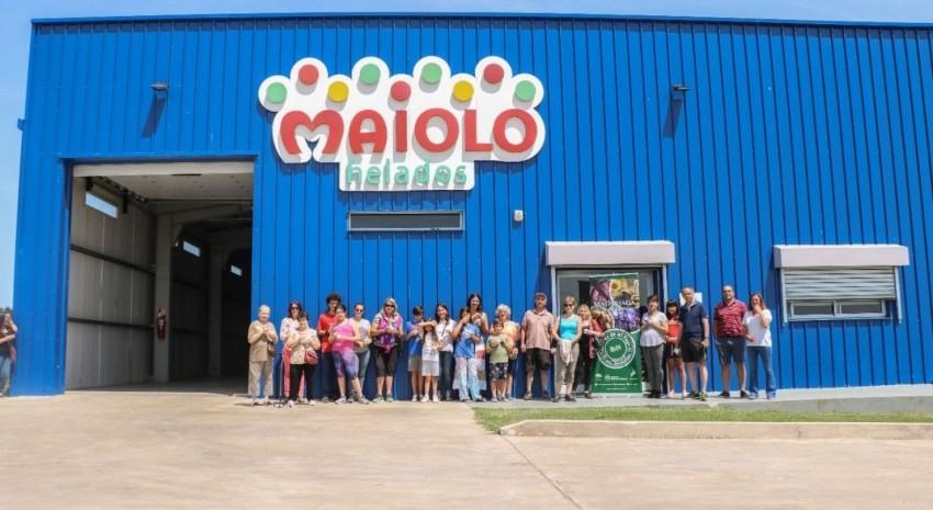Residentes y turistas realizaron el recorrido por Maiolo
