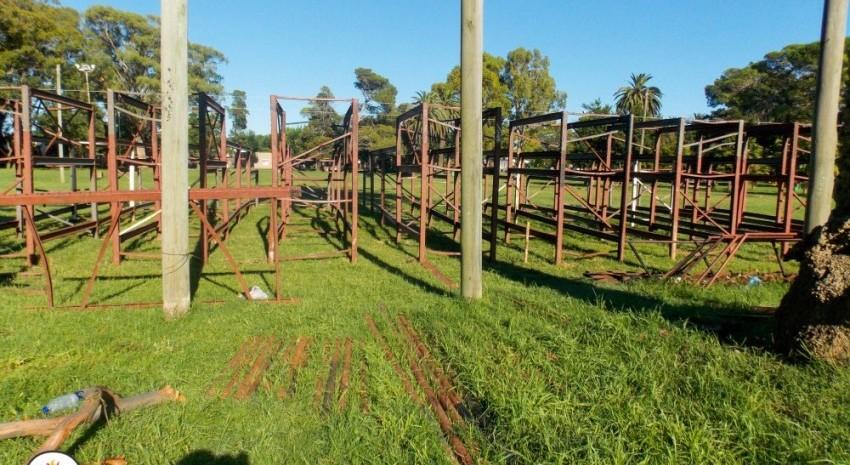 Mantenimiento integral en el Parque Anchorena