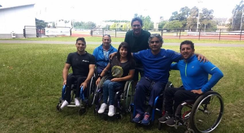 Martín Cottini se reunió con el Presidente del Comité Paralímpico Argentino