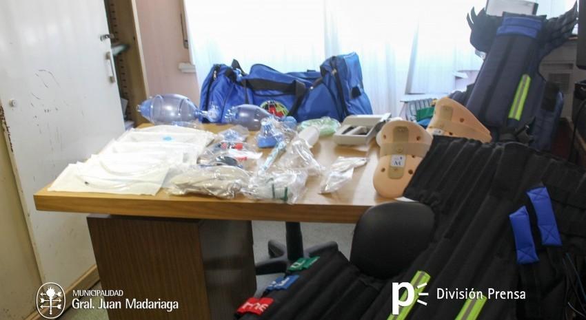 material ambulancias