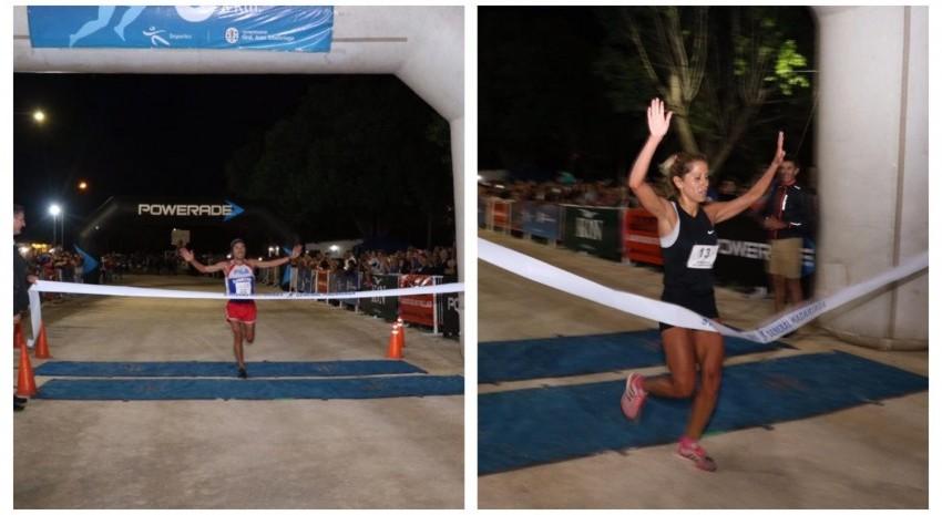 Ulises Sanguinetti y Leticia Cisneros Rodríguez se quedaron con las millas nocturnas 2020