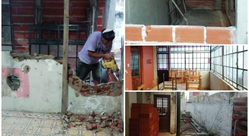 Amplían y mejoran la casa del estudiante en La Plata