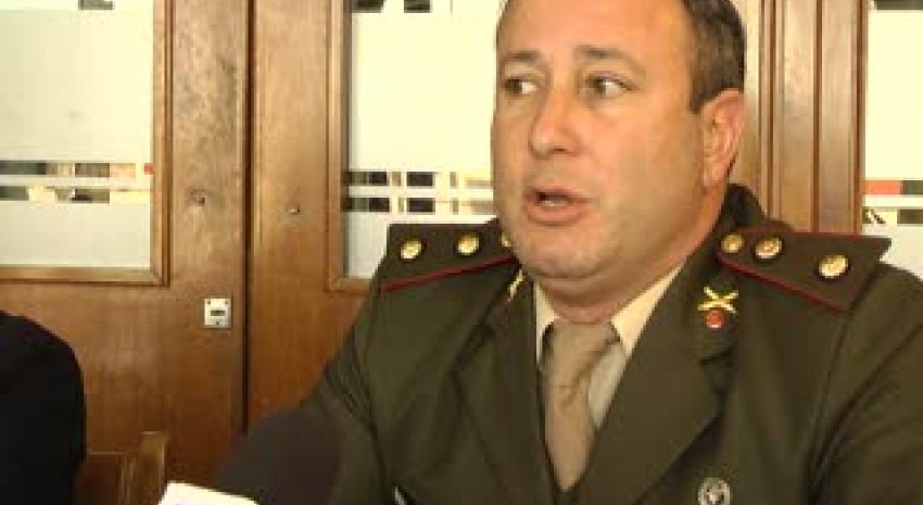 Llega mañana viernes el teniente coronel del GADA a dar una charla sobre servicio militar